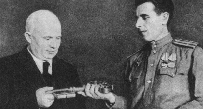 27 мая 1944 года Киеву возвращен символический ключ от города