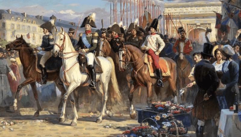 30 мая 1814 года в Париже заключен мир между Францией и государствами-участниками шестой антинаполеоновской коалиции