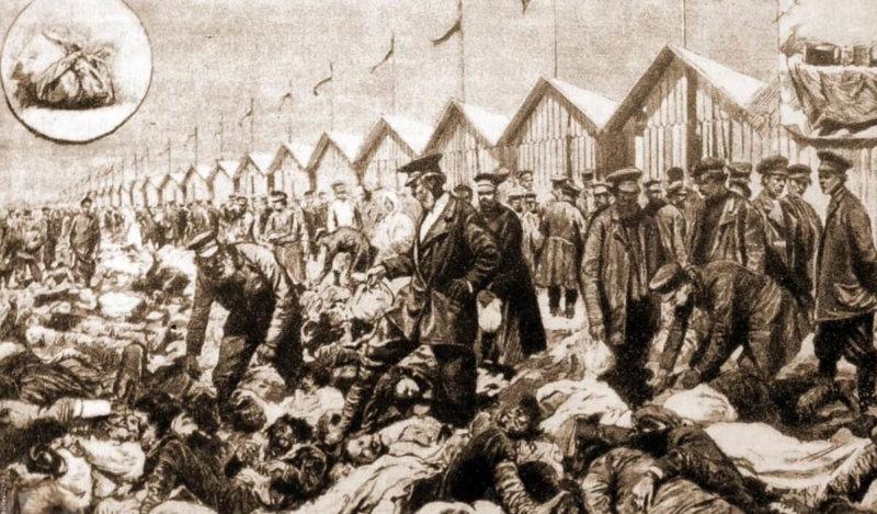 30 мая 1896 года во время празднества по случаю коронации Николая II на Ходынском поле от давки погибло больше полутора тысяч человек