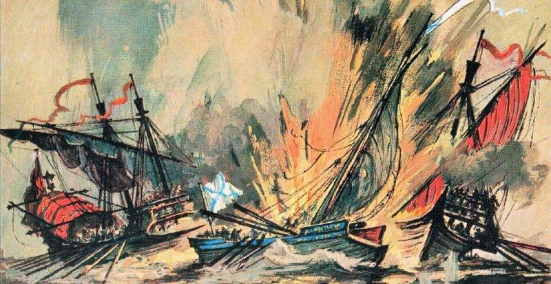 31 мая 1788 года во время русско-турецкой войны 1787-1791