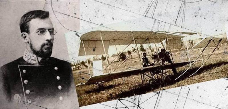 5 июня (23 мая) 1910 года в Киеве совершен первый в России полёт на самолёте отечественной конструкции