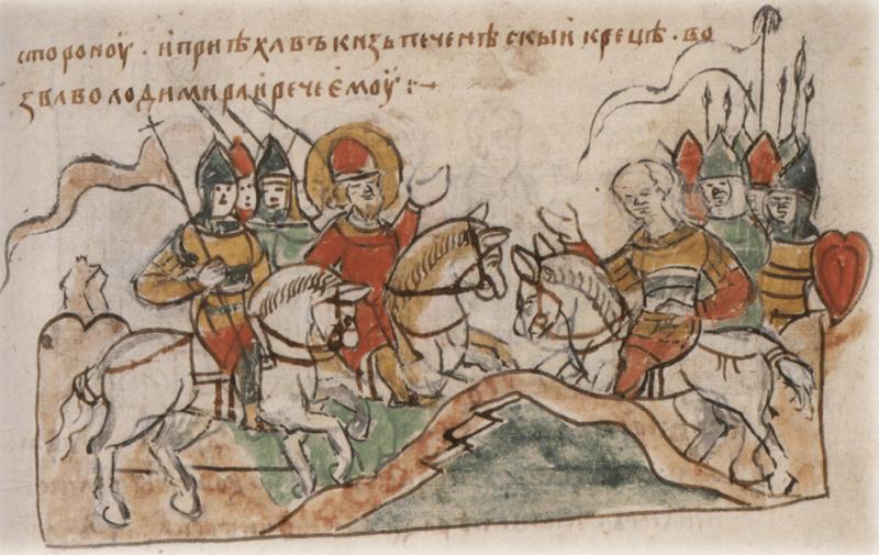 6 июня 1085 года Великий князь киевский Святополк и переяславский князь Владимир Мономах