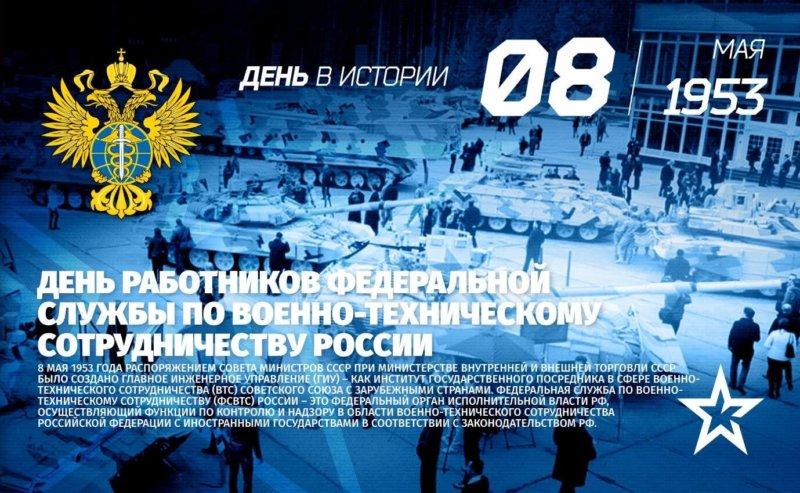 День работников Федеральной службы по военно-техническому сотрудничеству России