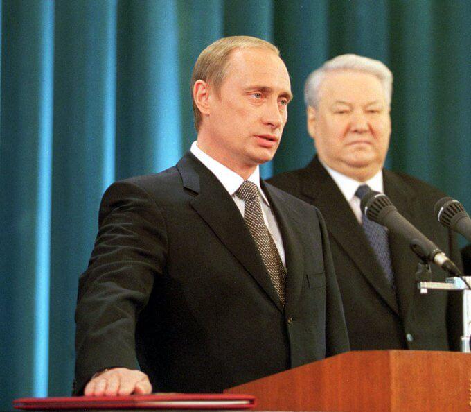 Инаугурация президента России Владимира Путина. Москва. Кремль. 7 мая 2000