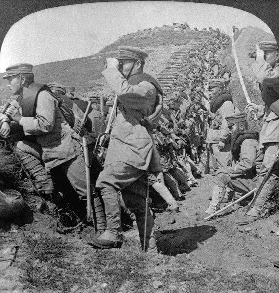 Японская пехота, 1904-1905 гг