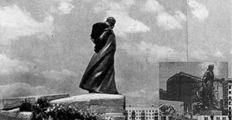 10 июня 1964 года в Москве открыт памятник к 150-летию Тараса Шевченко