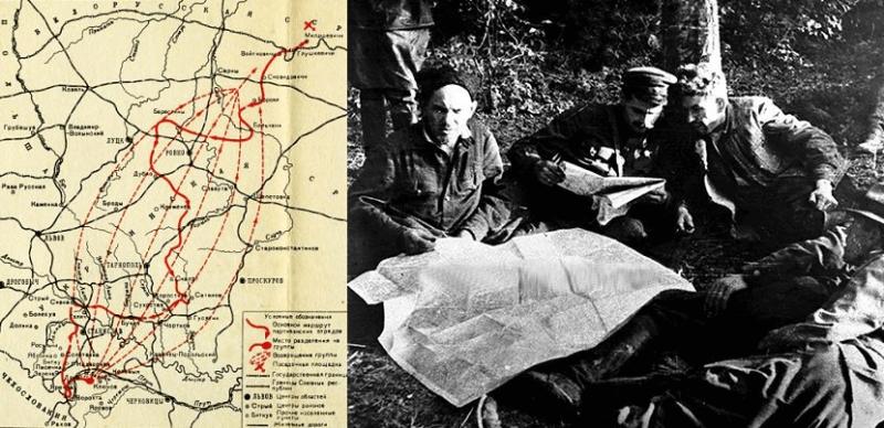 12 июня 1943 года в 18.00 часов от села Милошевичи