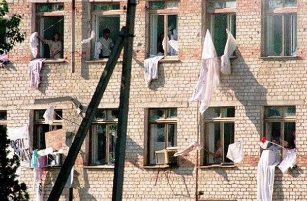 14 июня 1995 года банда Шамиля Басаева