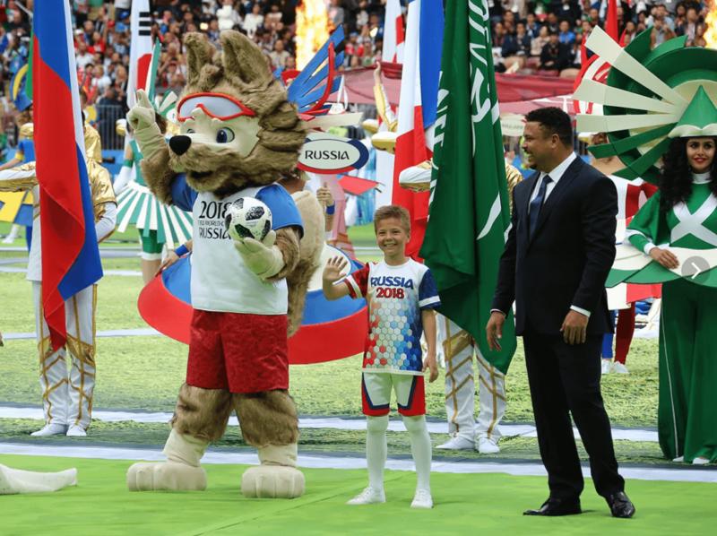 14 июня 2018 года в России состоялось открытие чемпионата мира по футболу