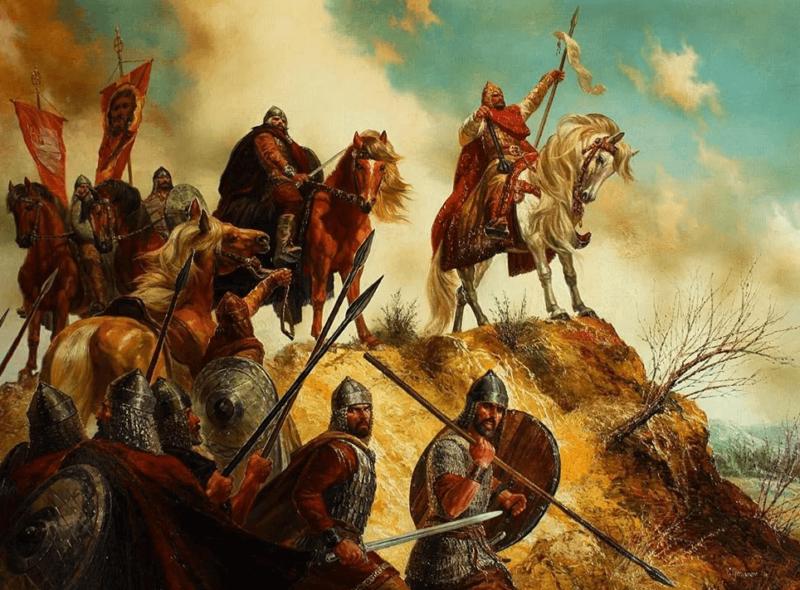 15 июня 1555 года московская рать Ивана Шереметева (Большого) – 9 тыс. человек – выступила в поход против крымского хана.