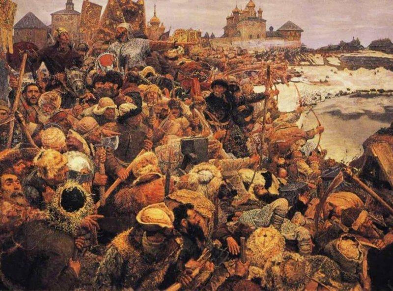 15 июня 1607 года царское войско князя Голицына разбило повстанцев Болотникова на р.Восме у Каширы.