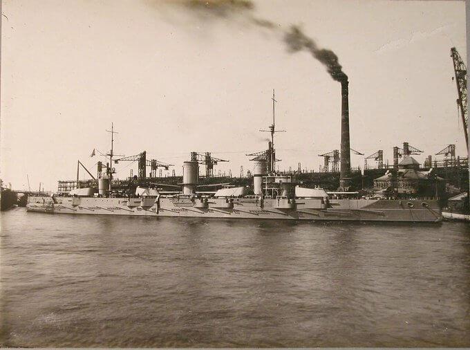 16 июня 1909 года закладка в Санкт-Петербурге четырех линкоров