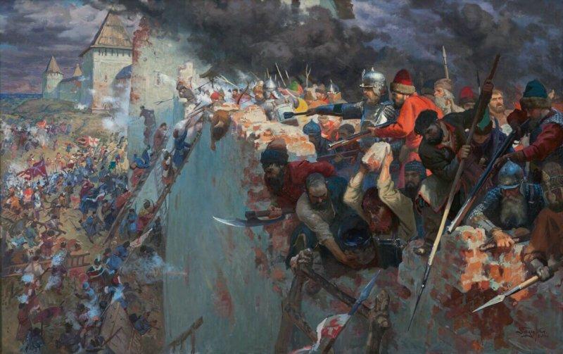 1611 - В период Смутного времени после 20-месячной осады Смоленска войска польского короля Сигизмунда вошли в крепость.
