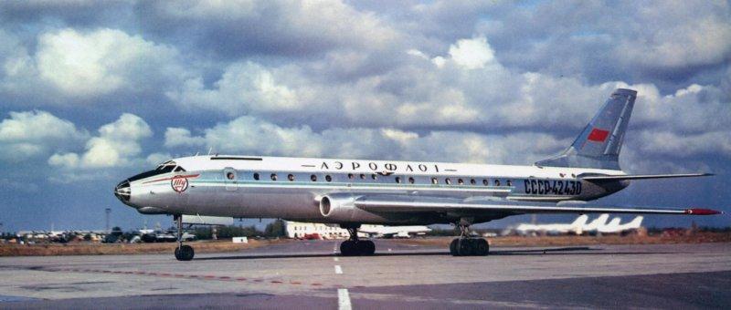 17 июня 1955 года экипаж летчика-испытателя Ю.Т.Алашеева совершил первый полет на реактивном лайнере Ту-104