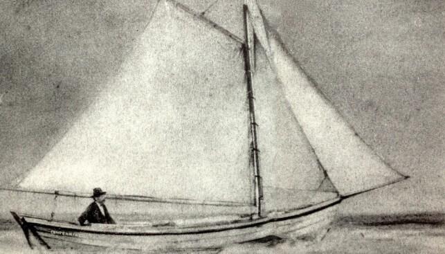 1876 - Началось плавание Альфреда Енсена - первого мореплавателя, решившегося пересечь Атлантический океан на парусной лодке.
