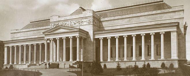 1912 - В Москве открыт Музей изящных искусств