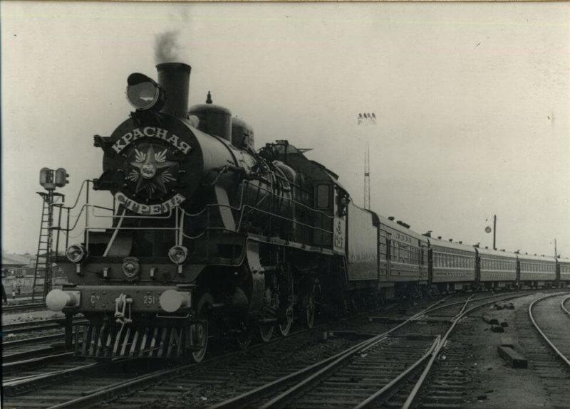 1931 - Из Москвы в Ленинград по Октябрьской железной дороге отправился в рейс первый в стране фирменный поезд