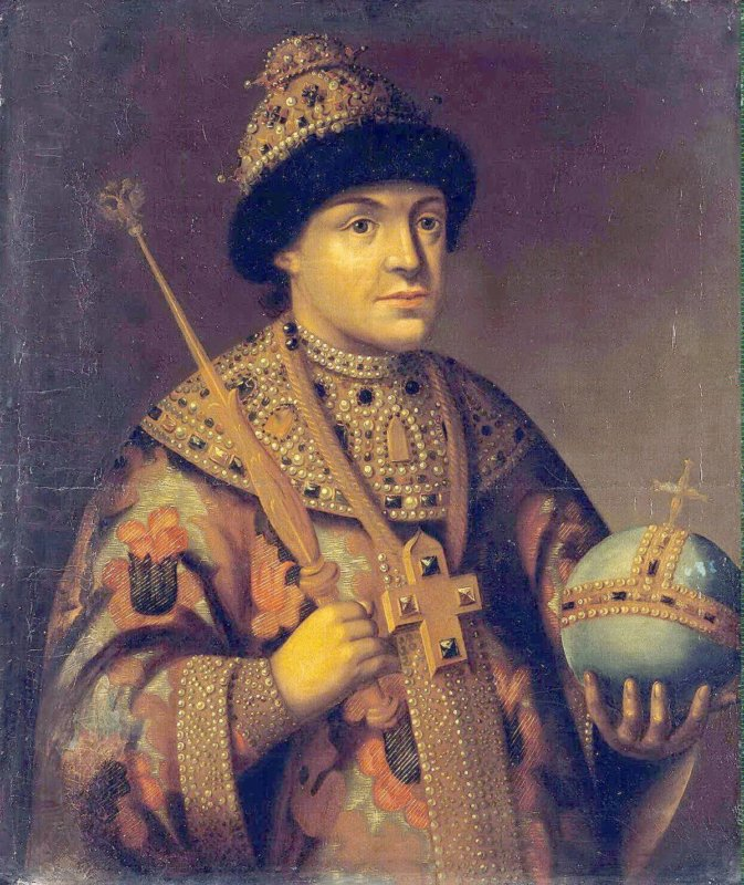 Единокровный брат Петра I Фёдор III