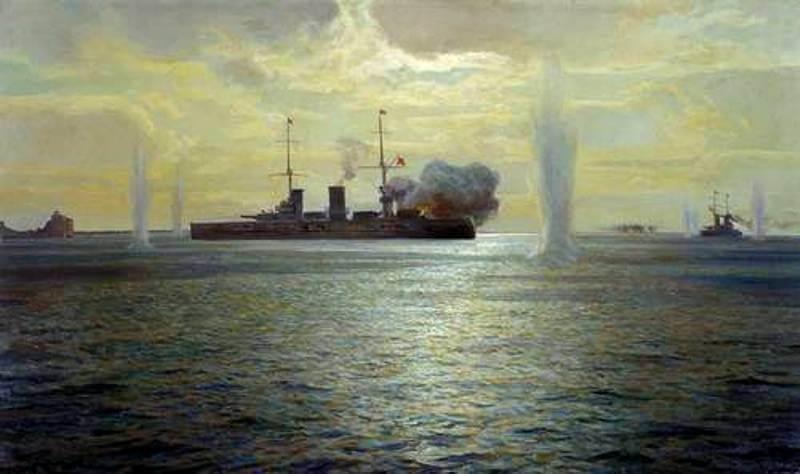 Красная Армия при поддержке Балтийского флота
