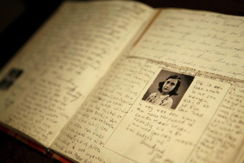 1 августа 1944 год - Анна Франк сделала последнюю запись в своём дневнике