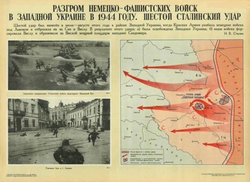 13 июля 1944 года началась Львовско-Сандомирская наступательная операция