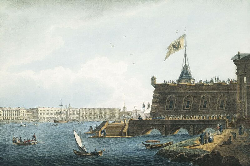 15 июля 1812 года в Петропавловской крепости дан артиллерийский салют в честь победы над Наполеоном.
