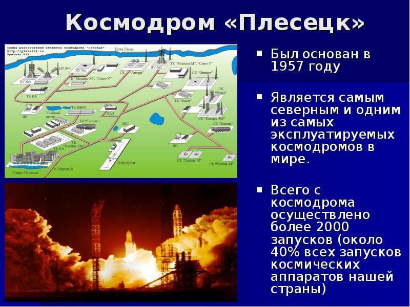 15 июля 1957 года – день рождения космодрома Плесецк в Архангельской области