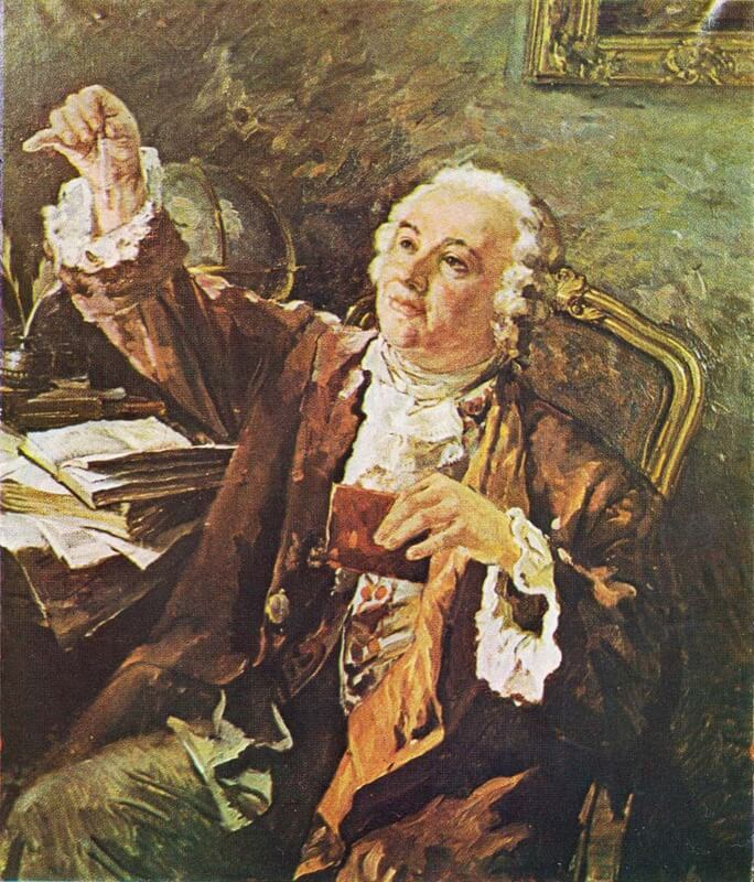 16 июля 1748 года закон Ломоносова о сохранении материи и движения