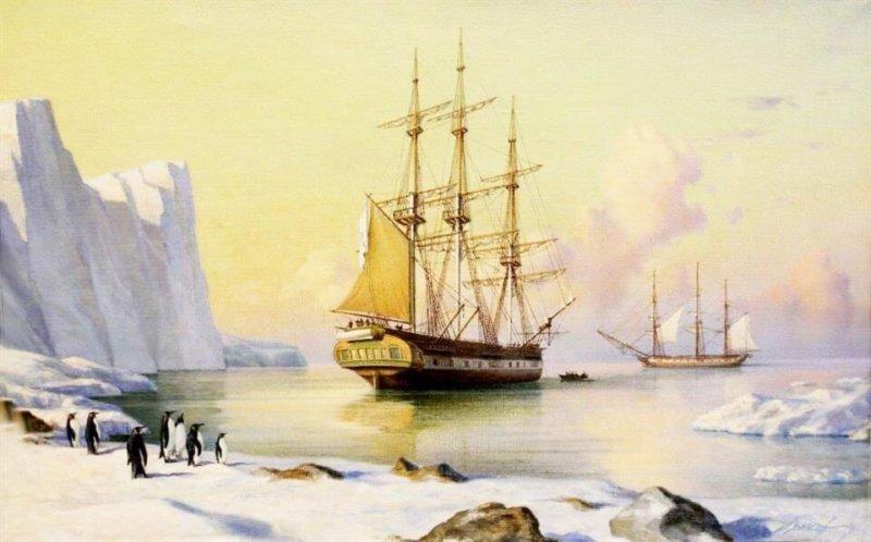 16 июля 1819 года стартовала кругосветная экспедиция шлюпов