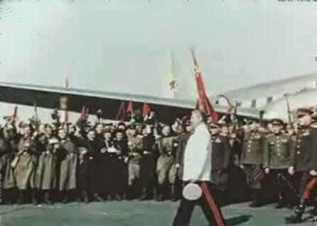 16 июля 1945 года Сталин прибыл в Берлин для участия в Потсдамской конференции