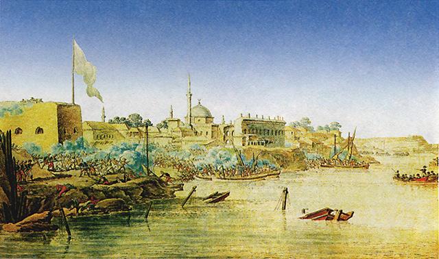 1696 - Русскими войсками взята турецкая крепость Азов.