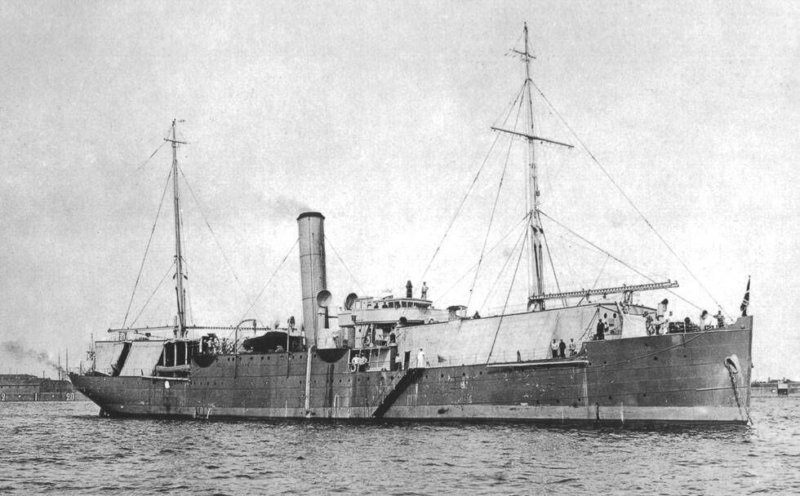 17 июля 1916 года четыре российских гидросамолет М-9 авианосного судна