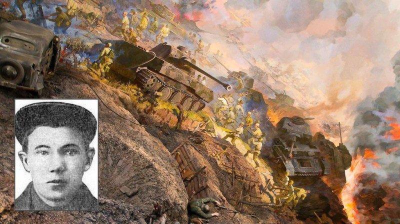 17 июля 1943 года командир минометной роты Алешкин на подступах к Орлу