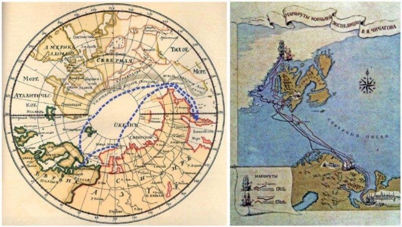 1765 - Экспедиция Василия Чичагова