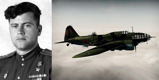 18 июля 1942 года, бомбя Кенигсберг, летчик Паращенко был подбит. Пролетел на одном моторе 1000 км и посадил свой ДБ-3 (Ил-4)