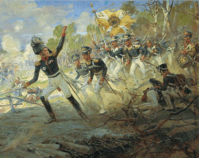 1812 - В бою при Дашковке (Салтановке) 7-й пехотный корпус под командованием генерал-лейтенанта Николая Николаевича Раевского