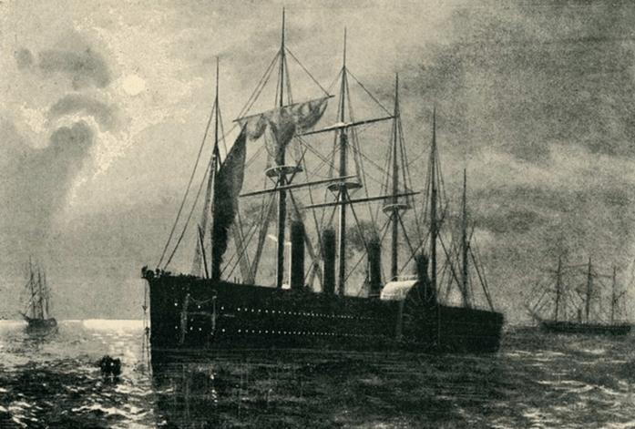 1865 - Предпринимается попытка проложить по дну Атлантического океана телеграфный кабель