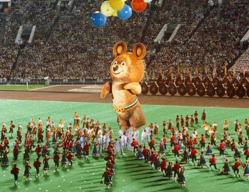 19 июля 1980 год Открылись XXII летние Олимпийские игры в Москве