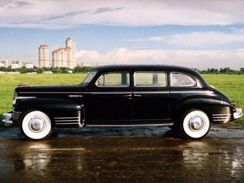 1945 - На Московском автозаводе имени И.В. Сталина