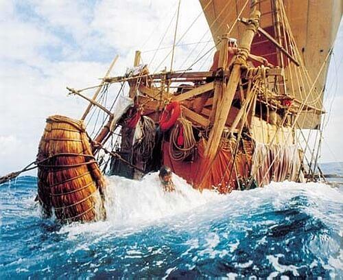 1962 - Во время шторма в Карибском море была спасена экспедиция Тура Хейердала