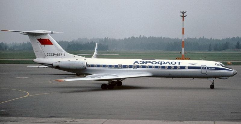 1963 - Состоялся первый полет самолета Ту-134.