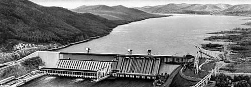 1972 - Красноярская ГЭС Великая комсомольская стройка!