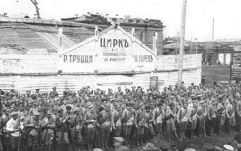 20 июля 1919 года взятием Екатеринбурга закончилась Екатеринбургская операция армий Восточного фронта РККА