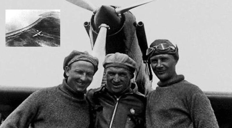 20 июля 1936 года беспосадочный перелет экипажа Чкалова по маршруту Москва Земля Франца-Иосифа Северная Земля Петропавловск-Камчатский о. Удд в устье Амура. 56 часов 20 минут в воздухе, 9374 км
