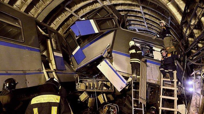 2014 - В московском метро произошла страшная трагедия - крупнейшая за всю историю столичной подземки техногенная катастрофа