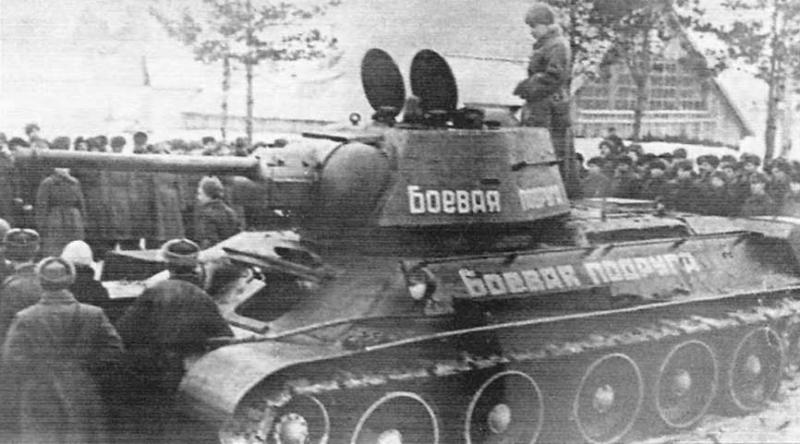 21 июля 1944 года в боях за Львов отличился экипаж танка Т-34