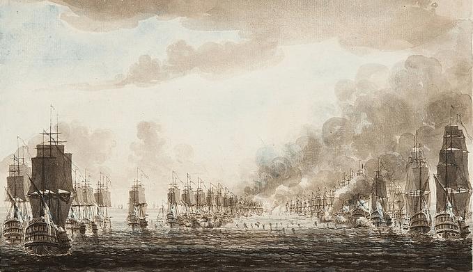 26 июля 1789 года в ходе морского сражения со шведами у о. Эланд