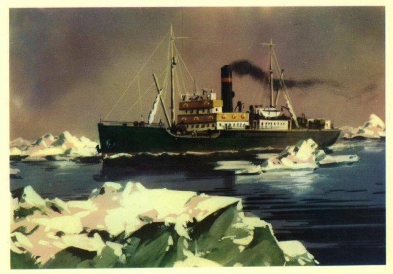 28 июля 1932 года вышел в сквозное плавание из Архангельска во Владивосток ледокольный пароход