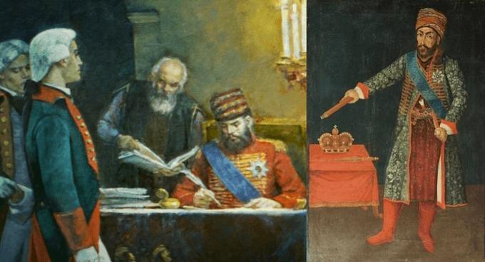 4 августа 1783 года подписан Георгиевский трактат