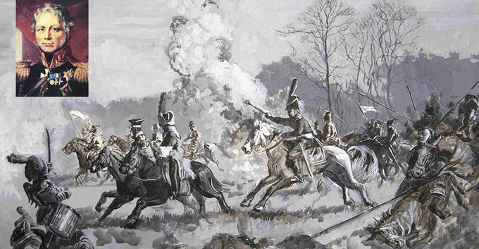 4 августа 1812 года по указанию М.Б. Барклая де Толли в Смоленске сформирован первый армейский партизанский отряд